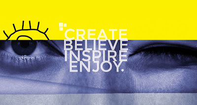 Inspire, Create, Enjoy, Believe