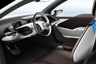 Pictures and Review 2014 BMW i3 Interior
