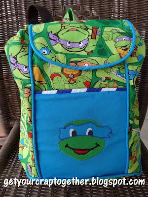 Ninja Turtle Backpack
