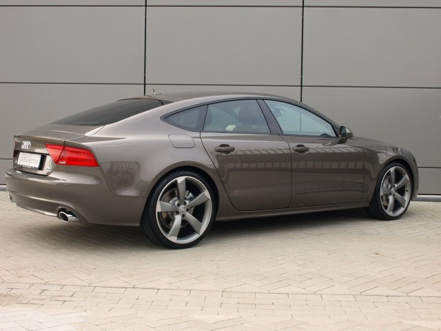Perfect Combo Audi A7 With Black Optics And 21 Inch Rotor
