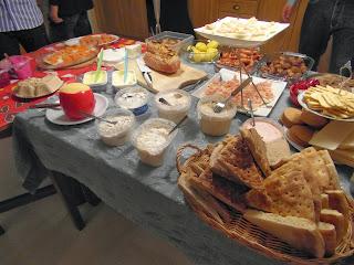 Julbord, ost, julskinka, sill