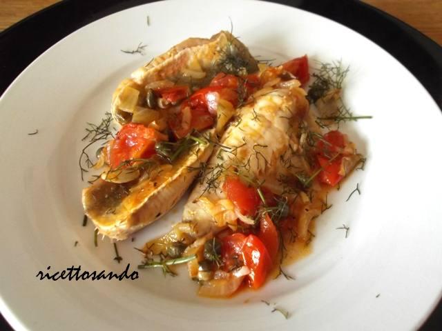 ricettosando - ricette di cucina : filetti di pesce alla lampedusana - Come Cucinare Filetti Di Gallinella