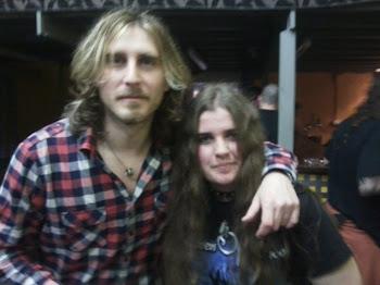 Con Pablo Monteagudo