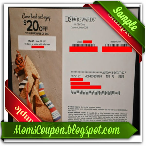 Coupon dsw online