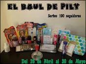 Sorteo 100 seguidores con EL BAUL DE PILY