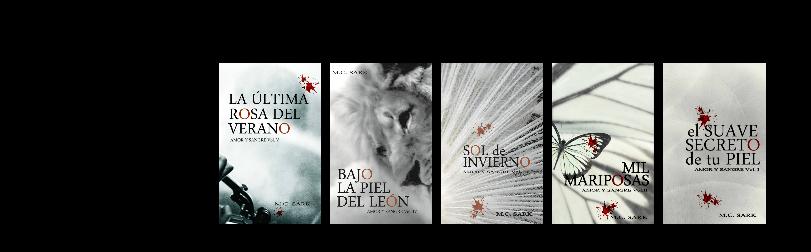 Las portadas de la saga