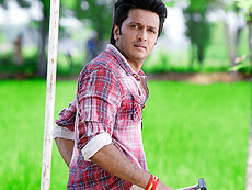 The new movie scene of Ritesh Deshmukh
