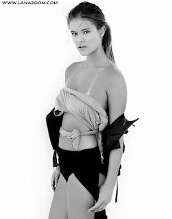 عارضة الأزياء نينا أكدال صور رائعة لمجلة أغسطس 2015