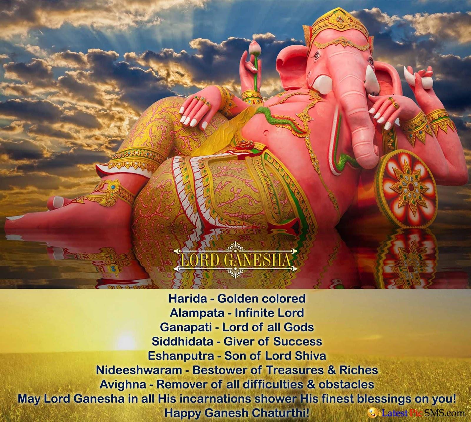 Big Statue of Lord Ganesha HD wallpaper Image