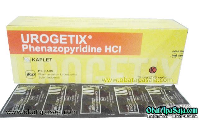 Komposisi Dosis dan Harga Urogetix (Phenazopyridine)