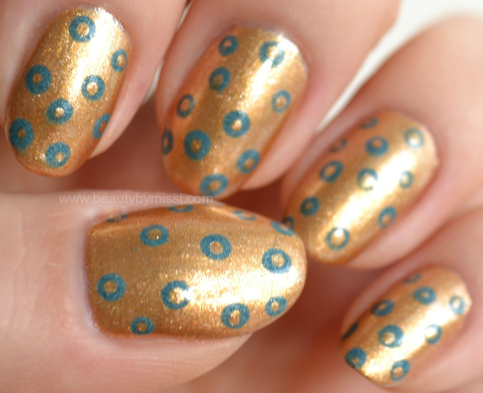 dotticure, dotted nails, notd, nails of the day
