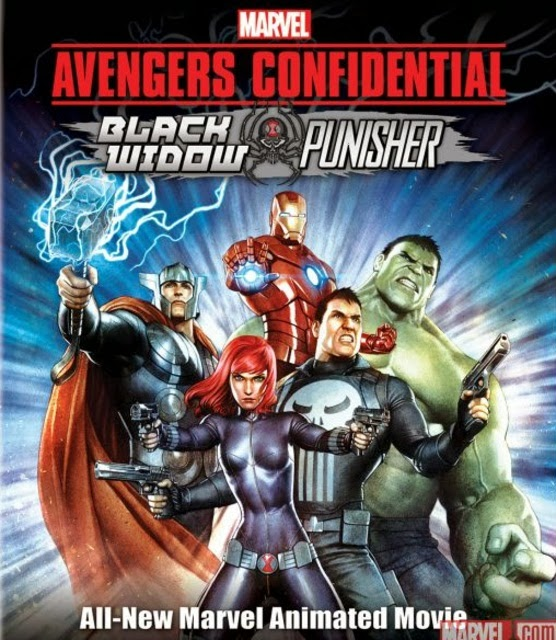 Filme Poster Avengers Confidential: Black Widow & Punisher HDRip XviD & RMVB Legendado
