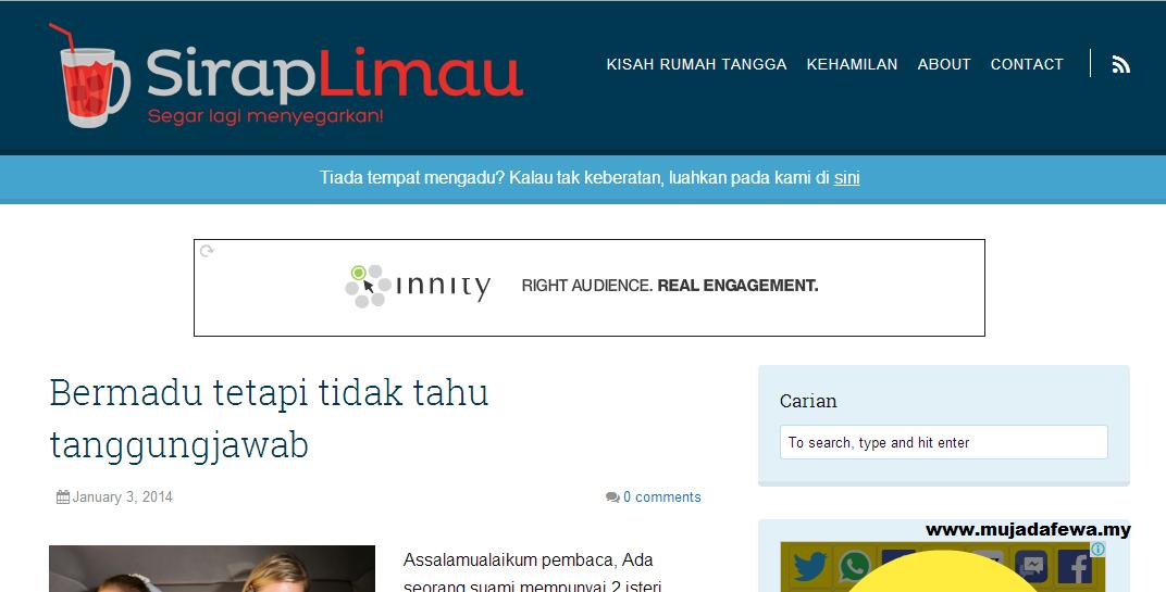 Review blog siraplimau.com, blog untuk keluarga, blog untuk rumah tangga, rumah tangga bahagia
