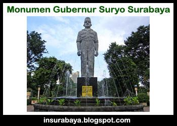 Monumen Gubernur Suryo Surabaya | Sejarah dan Profil