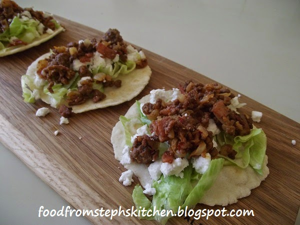 Mini Moroccan mince tortillas - Steph's Kitchen