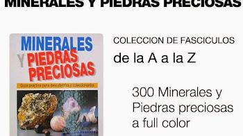 Coleccion Minerales y Piedras preciosas