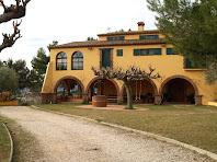 La gran porxada del pati de Cal Sanador