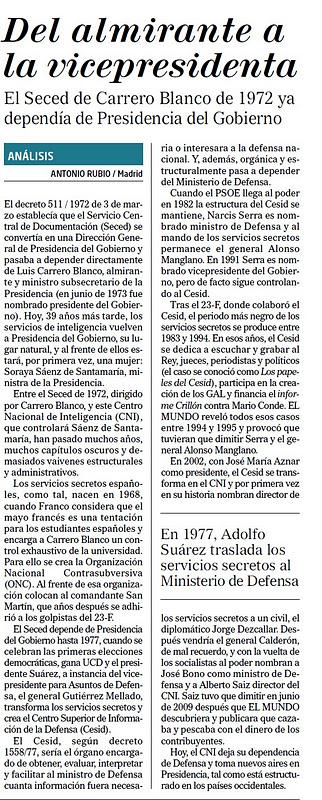 Rajoy forma el Gobierno de la excelencia