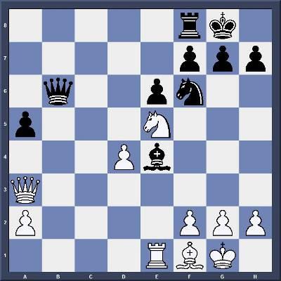 Echecs & Tactique : Les Blancs gagnent en 3 coups - Niveau Facile