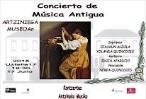VIERNES 17 JULIO 2015. CONCIERTO DE MÚSICA ANTIGUA.