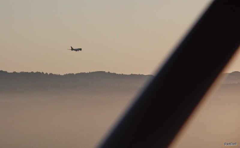 B747 en phase atterrissage