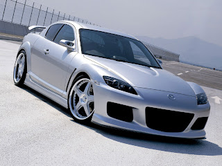 Mazda Rx8 supercar.