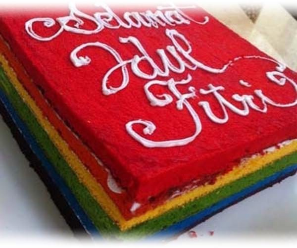 Resep Cara Membuat Rainbow Cake, Kue Pelangi Manis dan Lembut