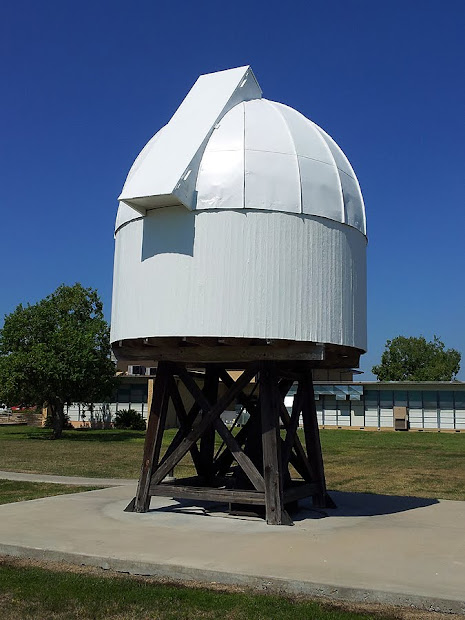 Schaefer Observatory at Blinn College, Schulenburg, Texas