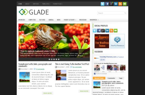 15 Best Free Business WordPress Themes 2012
