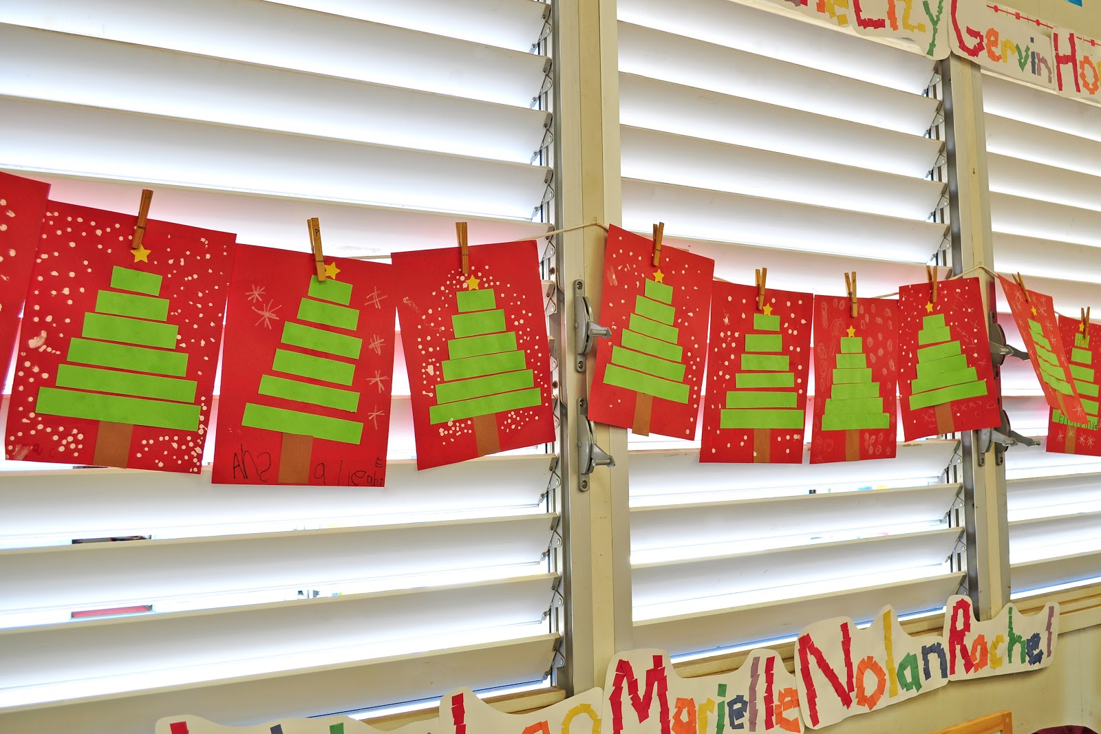 Easy christmas art projects for kindergarten
