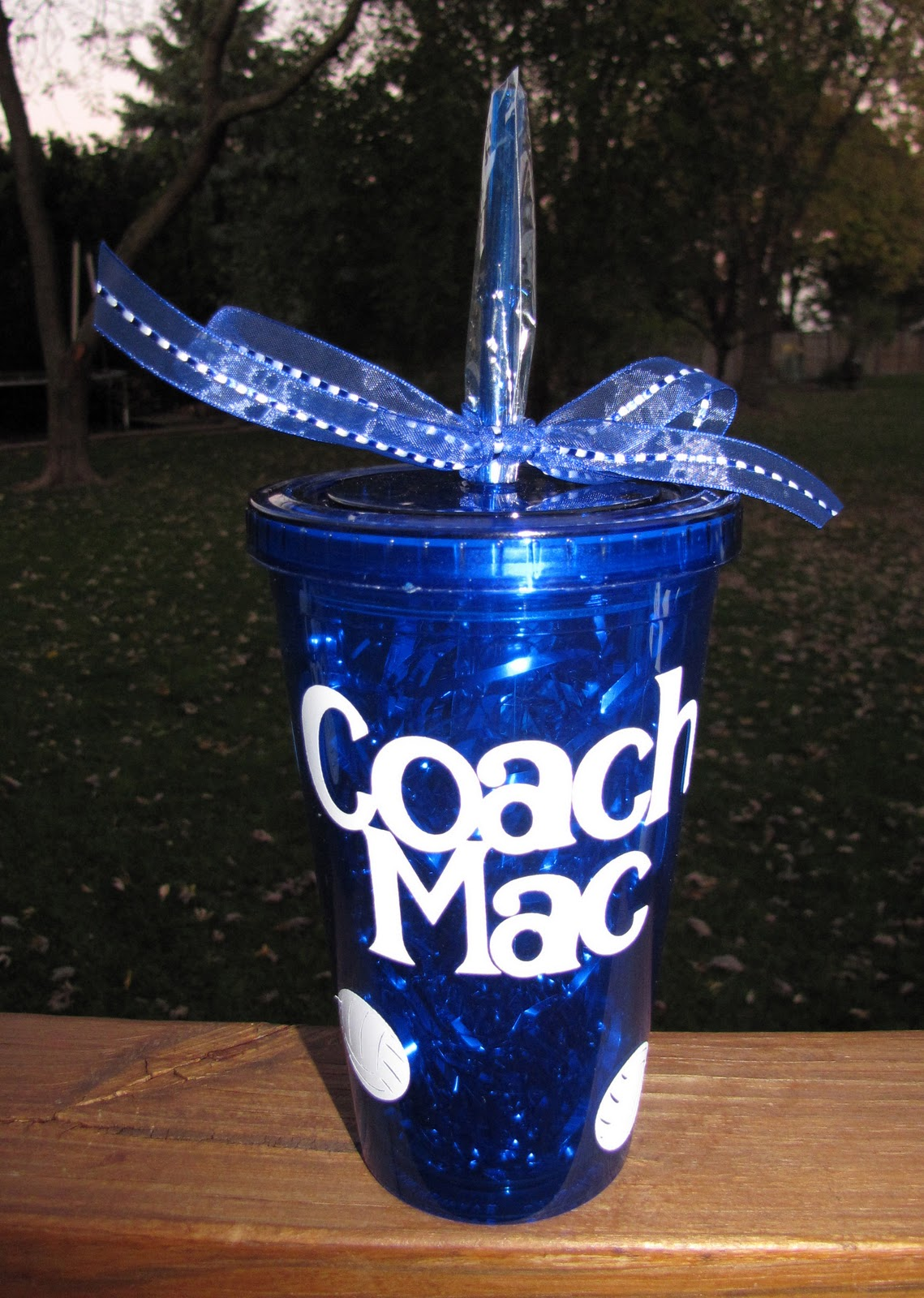Volleyball Coach Tumbler Gifts