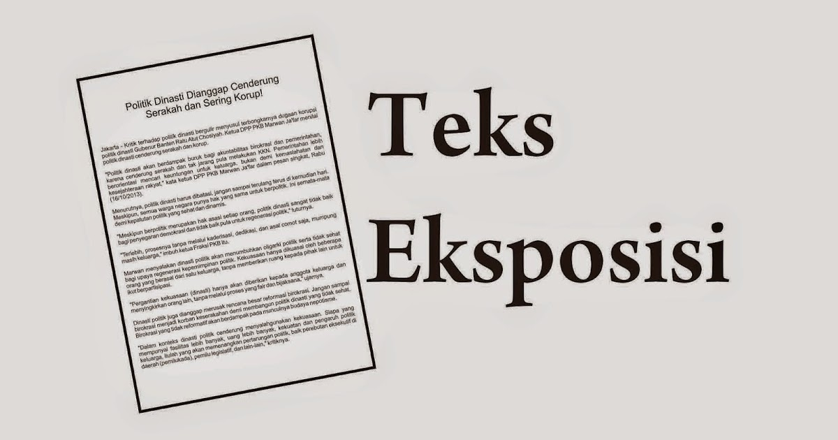 Contoh Teks Eksposisi | Pohon Seribu Manfaat - Pekiringan ...
