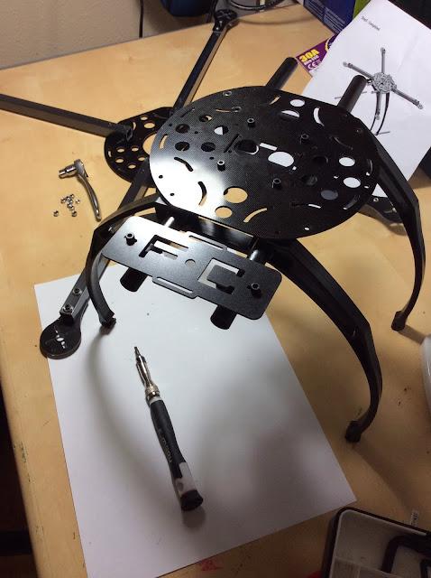 chasis de quadcopter