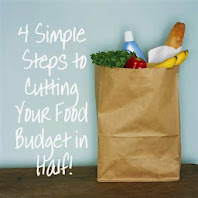 4 Steps to Cutting Your Food Budget in Half