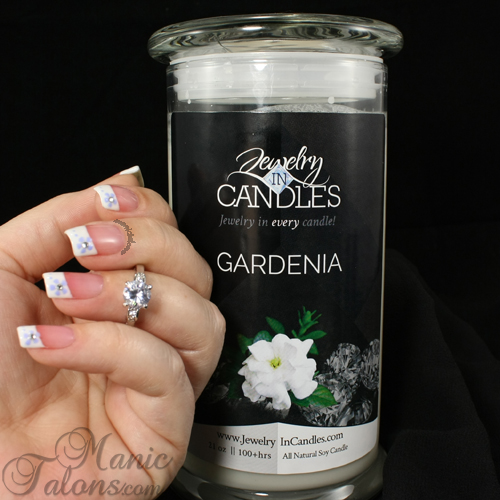 manic talons nail design jewelry in candles review with a