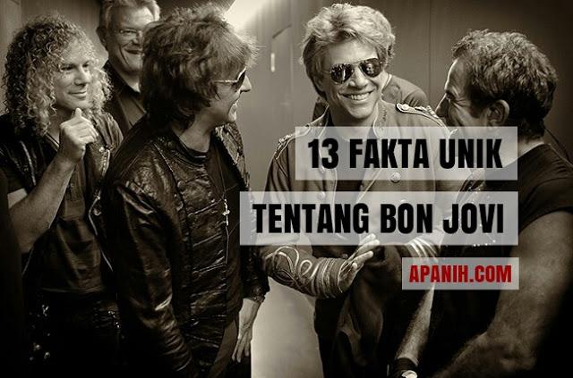 13 Fakta Unik Tentang Bon Jovi apanih.com