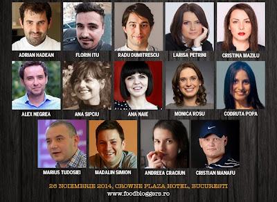 speakeri la Food Bloggers