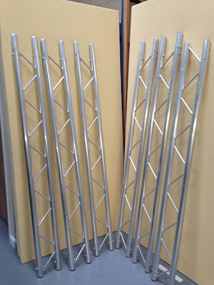 Rigging hardware optikinetics opti trilite ladder truss for Cheap truss systems