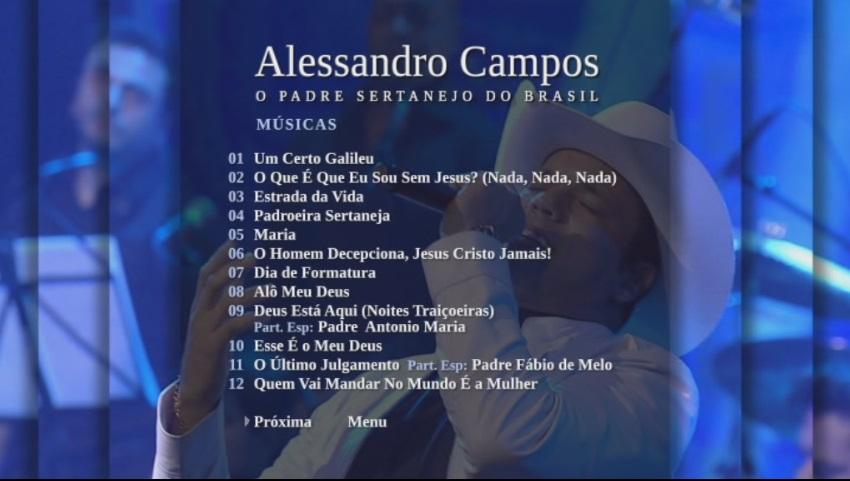 Padre Alessandro Campos Quando Deus Quer, Ninguém Segura Ao Vivo DVD-R 2