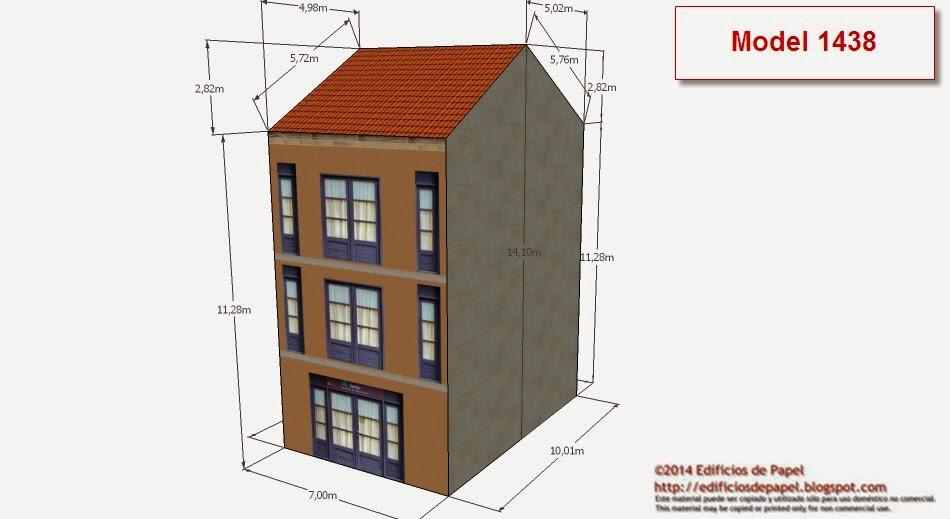 ©2014 Edificios de Papel models 1438-1439