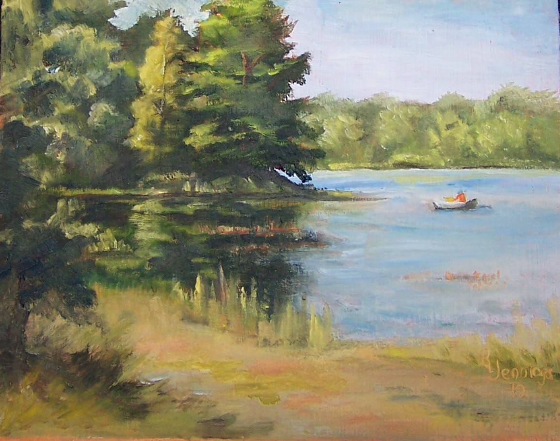 Sunny 39 s fine art studio lake wilhelm for Lake wilhelm fishing