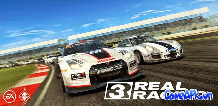 Real Racing 3 v2.4.0 hack full tiền và full xe cho Android