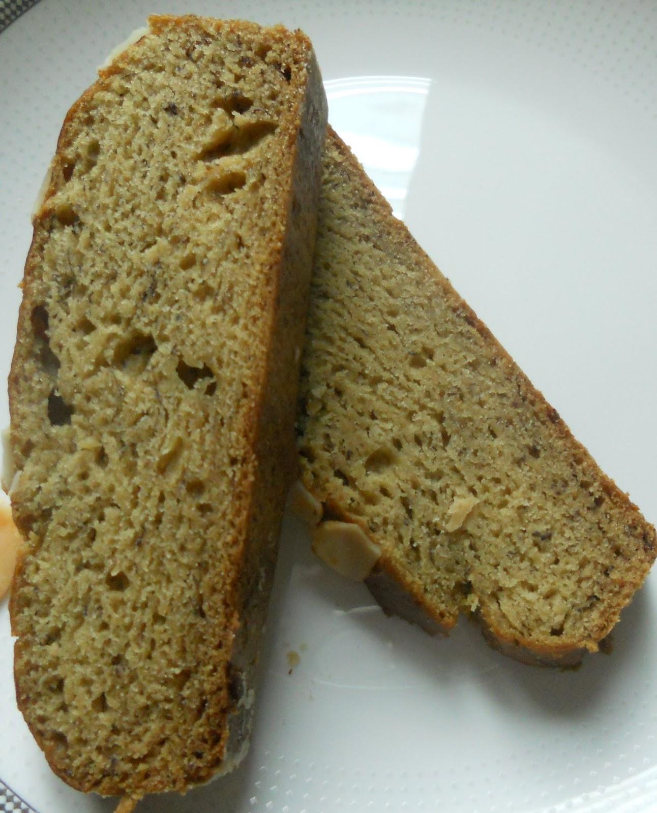 The Whole Food Diary Bananna Bread