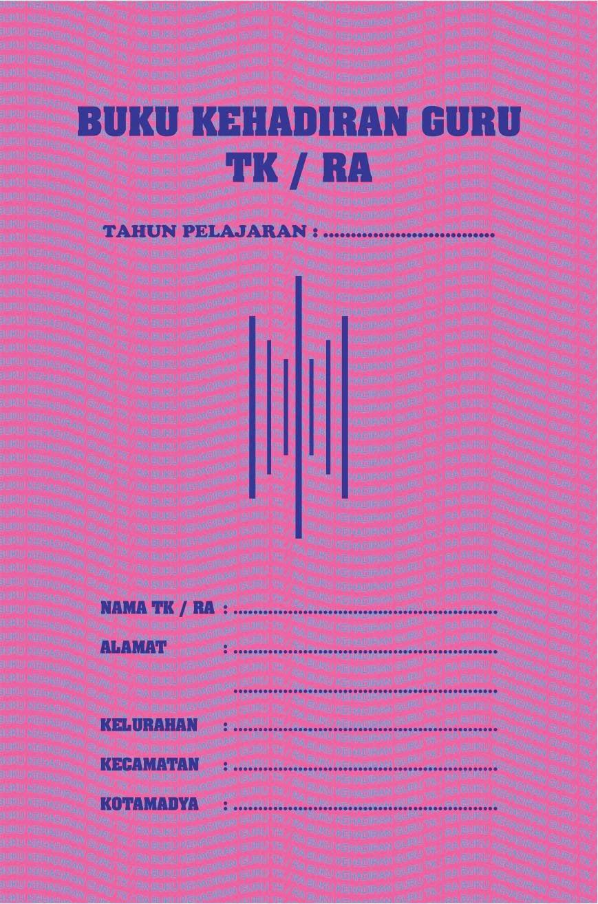 Buku Administrasi Sekolah Buku Induk Paud Tk Sd Smp Sma
