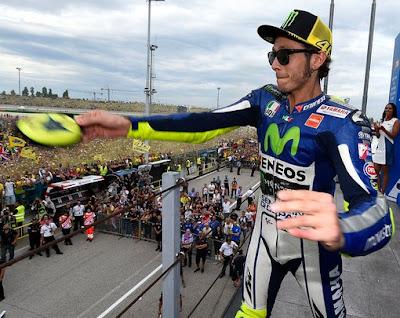 Jangan Menangis Valentino Rossi, Balapan Memang Kejam
