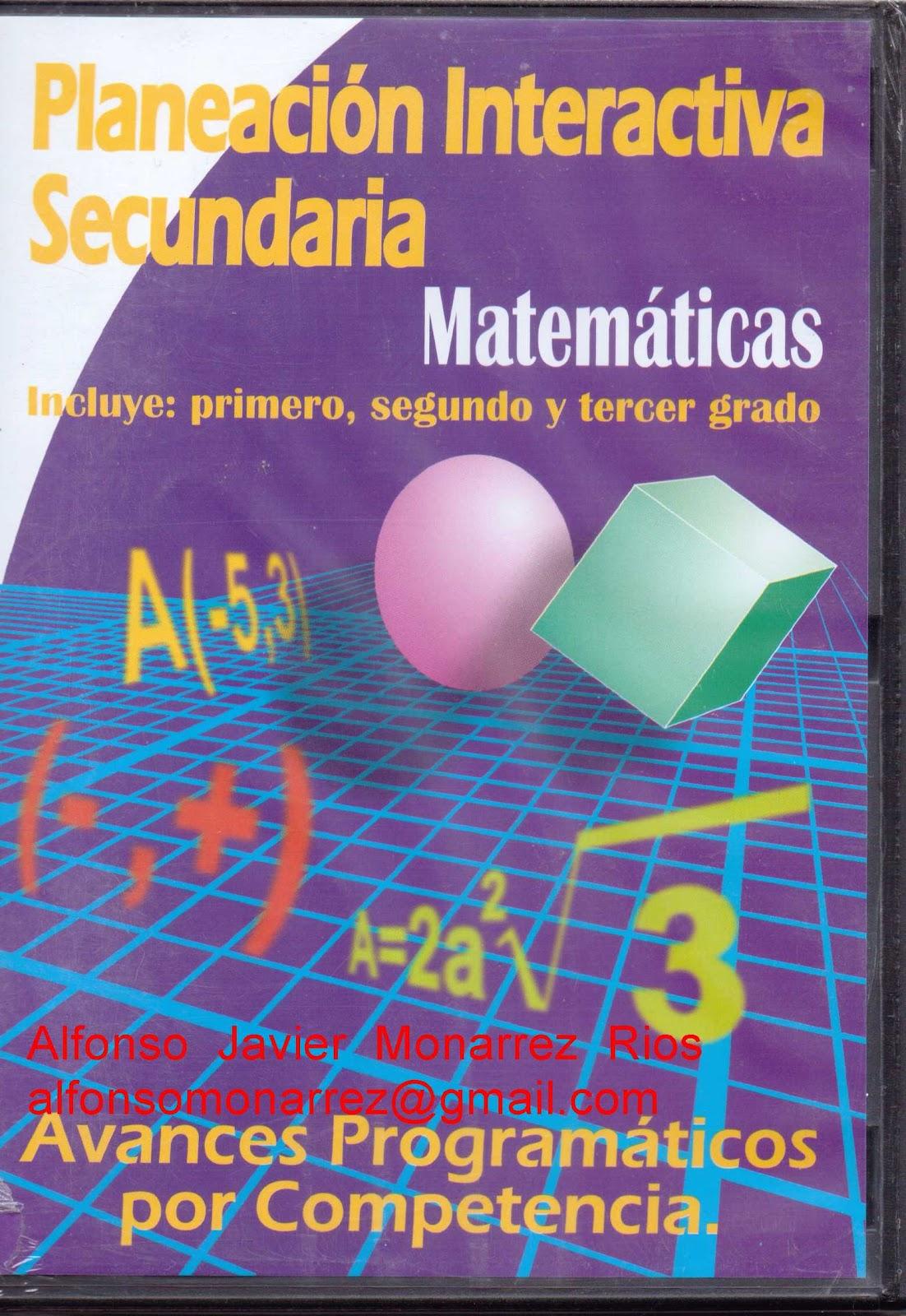 educacion secundaria matematicas: