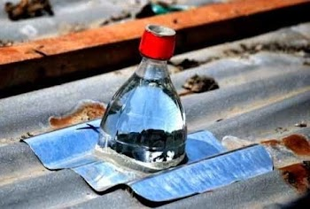 Η πατέντα του αιώνα! Δωρεάν φως με πλαστικό μπουκάλι και νερό! Πώς θα τα καταφέρετε;
