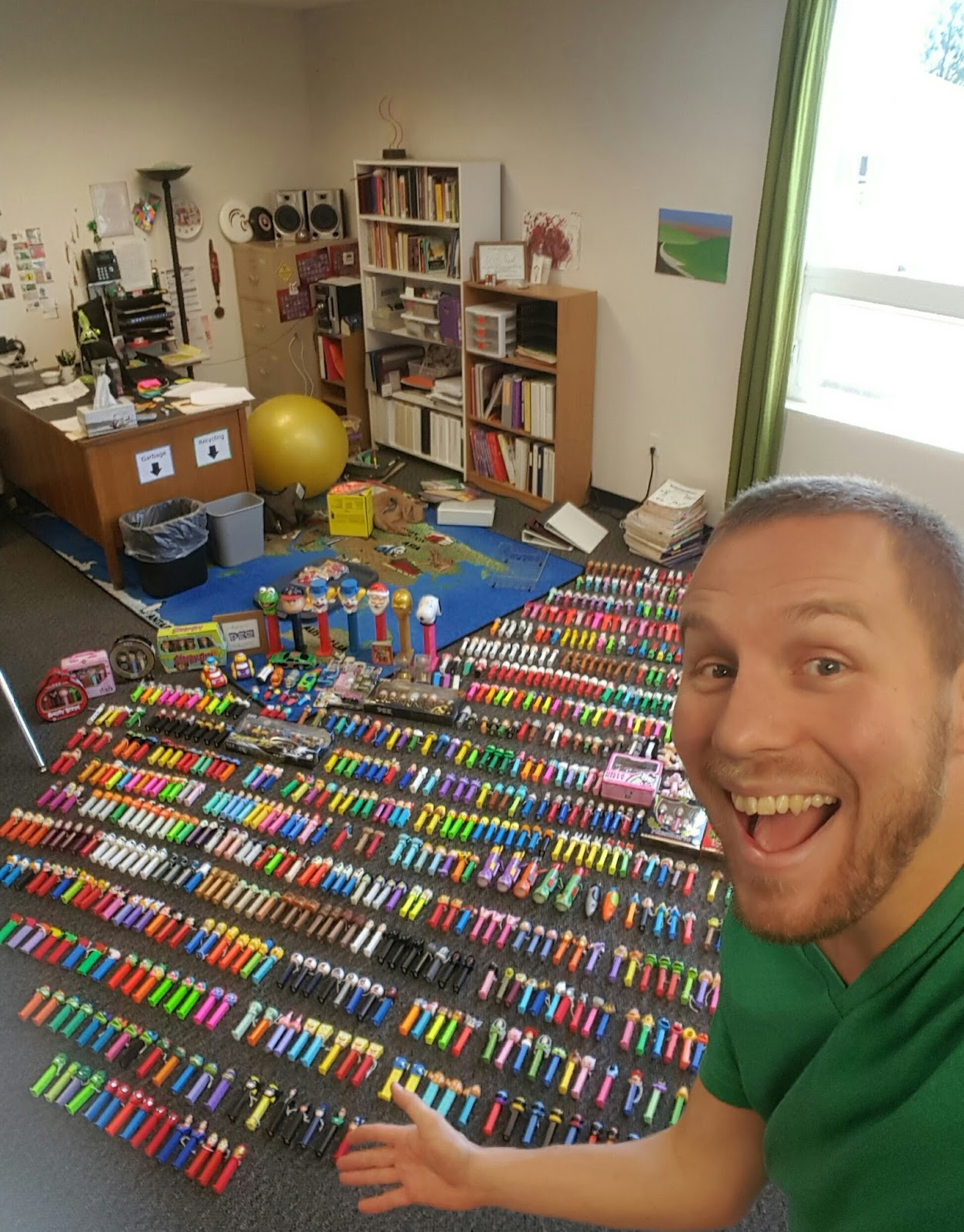 Arlington Man's Massive Pez Collection Started as a Bet | ARLnow.com