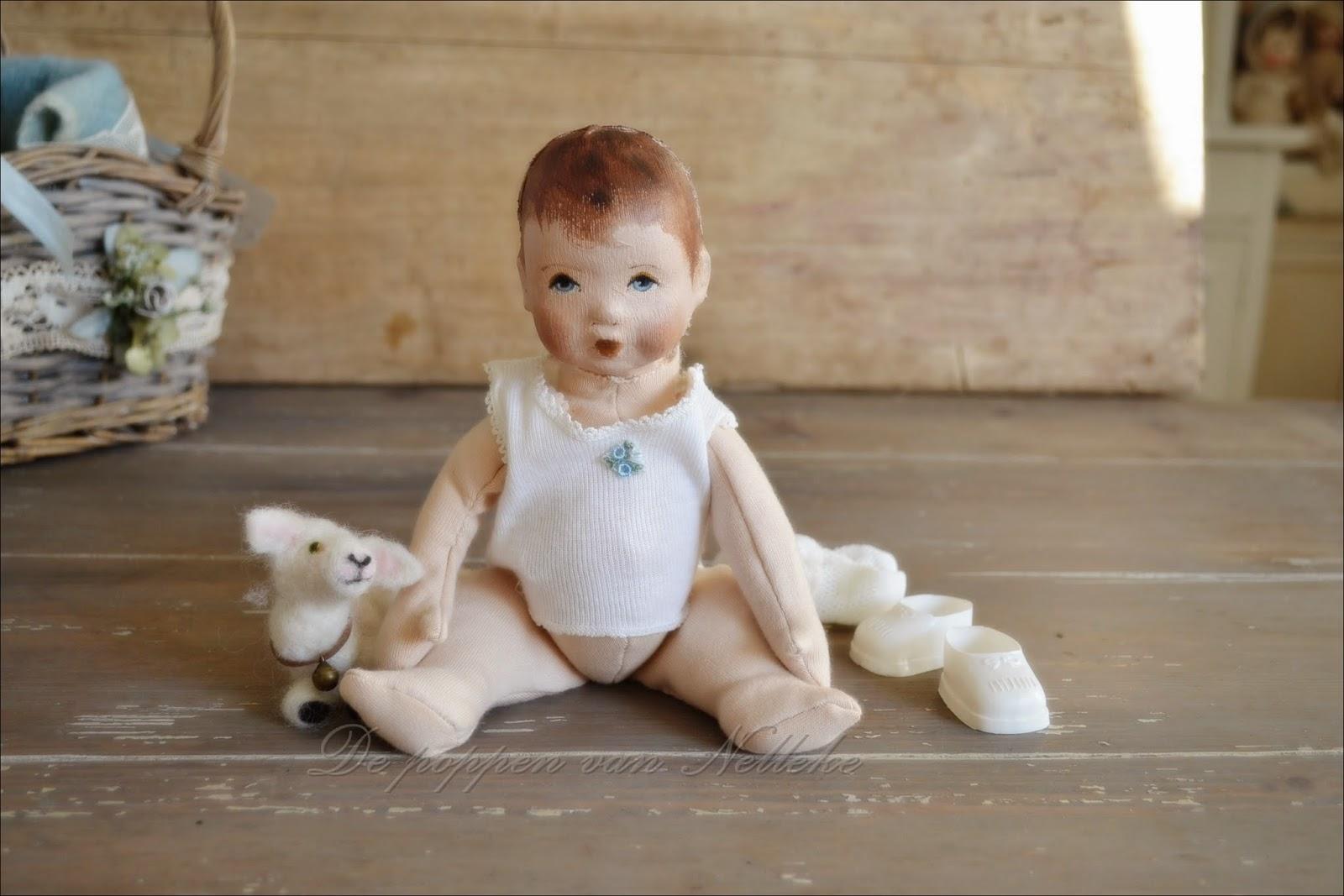 klein popje voor Christelle