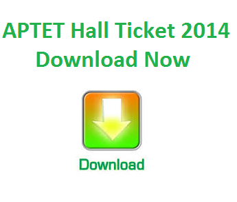 APTET Exam Hall Ticket Now Download April 2015